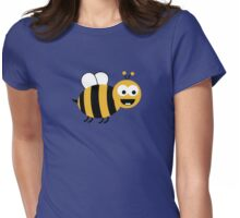 Funny Sweet Bee Womens Fitted T-Shirt