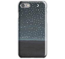 Stargazing ~ Galaxy Painting  iPhone Case/Skin