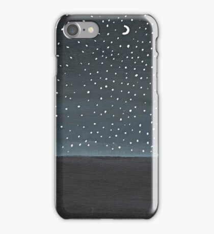 Stargazing ~ Galaxy Painting  iPhone Case/Skin
