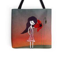 Fleur sans voix Tote Bag