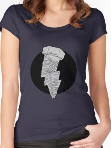 the bolt... Women's Fitted Scoop T-Shirt
