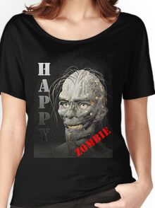 Happy Zombie Women's Relaxed Fit T-Shirt