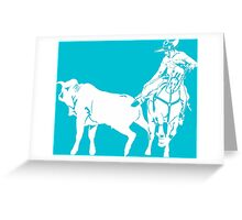"""CHARRO"" Greeting Card"