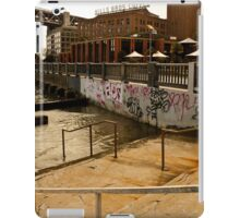 Stairs into Water, San Francisco iPad Case/Skin