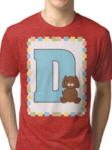 D is for Dog Tri-blend T-Shirt