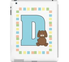 D is for Dog iPad Case/Skin