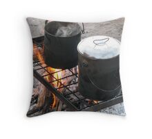 Billy Boiling Throw Pillow