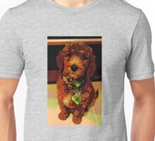 Posterised Pup Unisex T-Shirt