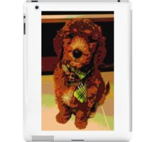 Posterised Pup iPad Case/Skin