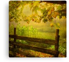 autumn overture Canvas Print