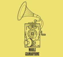 Mobile Gramophone by Malkman