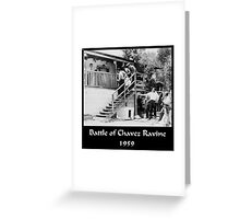 Battle of Chavez Ravine Greeting Card