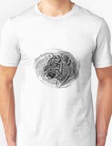 Tiger B&W Unisex T-Shirt