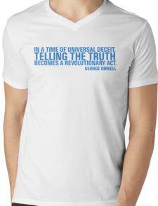 Telling The Truth Mens V-Neck T-Shirt