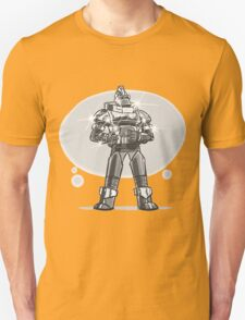 Robot from the future with sparkles T-Shirt