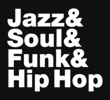 Jazz & Soul & Funk & Hip Hop One Piece - Long Sleeve