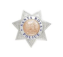 Santa Rosa Police Photographic Print