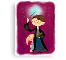Harry Potter and Dobby Canvas Print