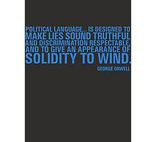 Political Language Photographic Print