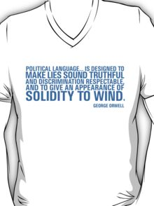 Political Language T-Shirt