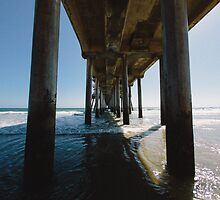 Under the Pier by Cayton Cox
