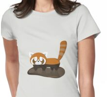 Dirty Lesser Panda Womens Fitted T-Shirt