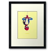 Heroes in a Half Shell: Spider-Man Framed Print