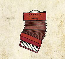 Accordeon by Nadine Feghaly