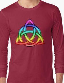 Triquetra (Trinity Knot) Long Sleeve T-Shirt