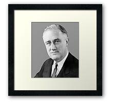 Franklin Delano Roosevelt  Framed Print