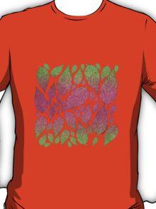Neon Leaves T-Shirt