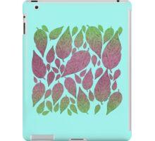 Neon Leaves iPad Case/Skin