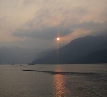 Yangtze Sunset by justineb