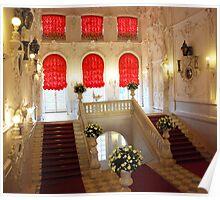 Royal steps- Catherine's Palace Poster