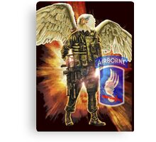 """Sky Soldier - Airborne"" Canvas Print"