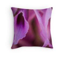 Purple Orchid Spray, FNQ. Throw Pillow