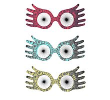 Luna's Glasses Photographic Print