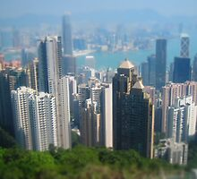 Miniature Hong Kong by justineb