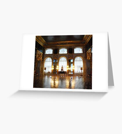 Entertaining room- Catherine's Palace Greeting Card