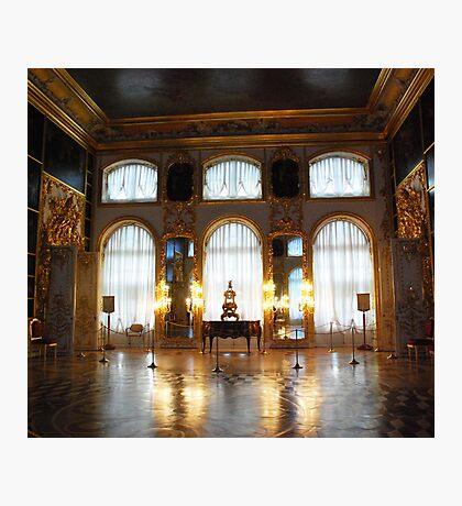Entertaining room- Catherine's Palace Photographic Print