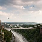 Balloons over Clifton Gorge by whatie