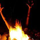 Drowning in Fire! by skreklow