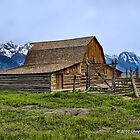 MORMON ROW BARN by Charlene Aycock