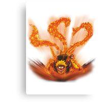 Naruto - Naruto Kyubi Canvas Print