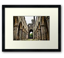 Kirkstall Abbey Framed Print