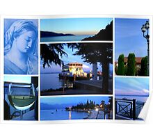 "Lake Garda Impressions featured in ""Colour me a rainbow - Blue"" Poster"