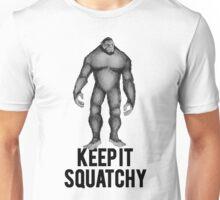 KEEP IT SQUATCHY SASQUATCH BIGFOOT Unisex T-Shirt