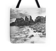Until the sun lights up the daytime... Tote Bag