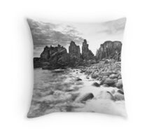 Until the sun lights up the daytime... Throw Pillow