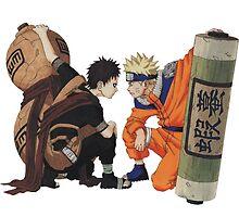 Naruto - Naruto x Gaara by Neiqo